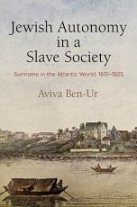 Jewish Autonomy in a Slave Society PDF