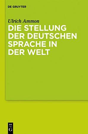 Die Stellung der deutschen Sprache in der Welt PDF