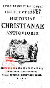 Institutiones historiae christianae antiquioris