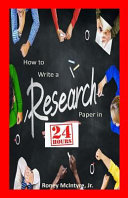 How to Write a Research Paper in 24 Hours PDF