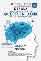Oswaal Kerala SSLC Question Bank Class 9 Biology Chapterwise   Topicwise  For March 2020 Exam  PDF