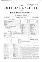 Official Gazette of the United States Patent Office: Volume 104