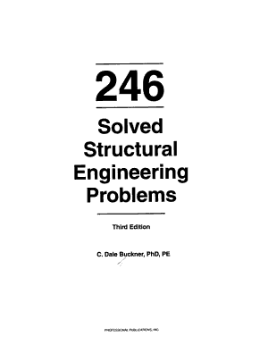 246 Solved Structural Engineering Problems