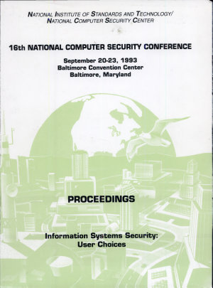 National Computer Security Conference  1993  16th  Proceedings PDF