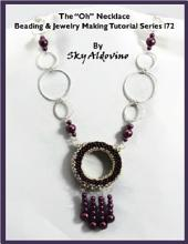 "The ""Oh"" Necklace Beading & Jewelry Making Tutorial Series I72"