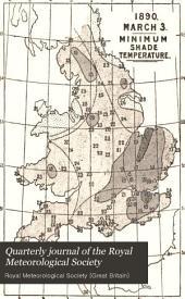 Quarterly Journal of the Royal Meteorological Society: Volume 16