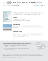 Challenges in Machine Generation of Analytic Products from Multi Source Data PDF