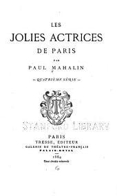 Les jolies actrices de Paris: Volume4