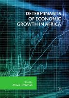 Determinants of Economic Growth in Africa PDF