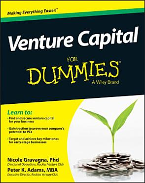 Venture Capital For Dummies PDF