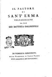 Il pastore di sant'Erma volgarizzato da don Gio. Battista Gallicciolli