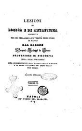 Lezioni di logica e di metafisica composte per uso della Regia Università degli studi di Napoli [di] Pasquale Galluppi: Vol. 3, Volume3