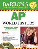 Barron's AP World History with CD-ROM