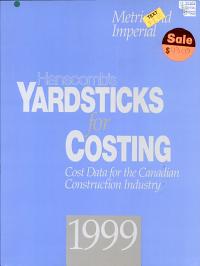 Yardsticks for Costing 1999