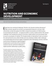 Synopsis, Nutrition and economic development: Exploring Egypt's exceptionalism and the role of food subsidies