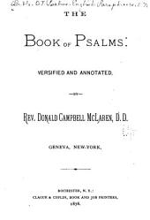 The Book of Psalms: Versified and Annotated