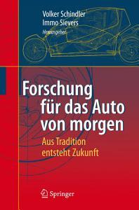 Forschung f  r das Auto von morgen PDF