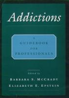 Addictions PDF