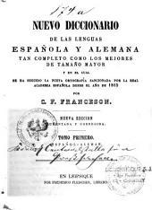 Nuevo diccionario de las lenguas espanola y alemana