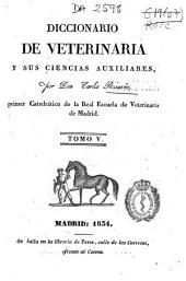 Diccionario de veterinaria y sus ciencias auxiliares: P-Z