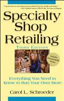 Specialty Shop Retailing PDF