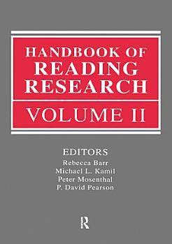 Handbook of Reading Research PDF