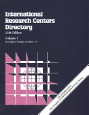 International Research Centers Directory Book PDF