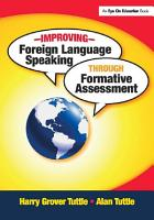 Improving Foreign Language Speaking through Formative Assessment PDF