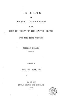 Reports of Cases Argued and Determined in the Circuit Court ...