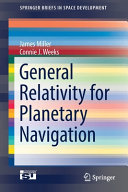General Relativity for Planetary Navigation