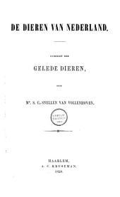 Natuurlijke historie van Nederland: dieren van Nederland. Overzigt der gelede dieren