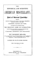 The Historical and Scientific American Miscellany PDF