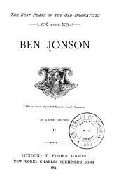 Ben Jonson: Volume 19