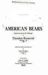 American Bears Book PDF