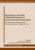 Microscopy in the Field of Materials Research II