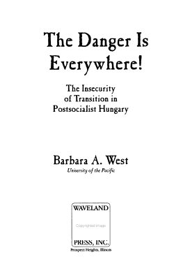 The Danger is Everywhere  PDF