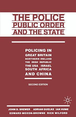 The Police  Public Order and the State PDF