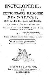 Encyclopédie, ou Dictionnaire raisonné des sciences, des arts et des métiers: Tor-Var
