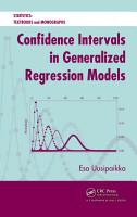 Confidence Intervals in Generalized Regression Models PDF