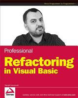 Professional Refactoring in Visual Basic PDF