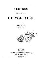 Oeuvres complètes de Voltaire: Volume33