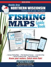 Northern Wisconsin - Oneida Area Fishing Map Guide