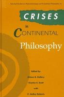 Crises in Continental Philosophy PDF