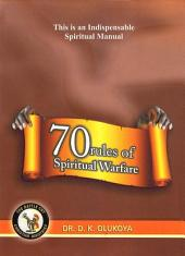 70 Rules of Spiritual Warfare