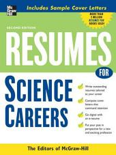 Resumes for Science Careers: Edition 2