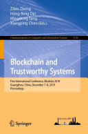 Blockchain and Trustworthy Systems