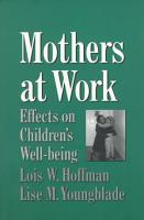 Mothers at Work PDF