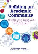 Building an Academic Community