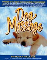 Dog Massage PDF