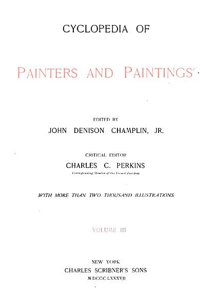Download Cyclopedia of Painters and Paintings Book